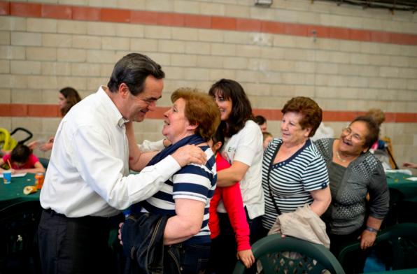 José Bono, en un acto electoral. Foto: Dani Pozo.