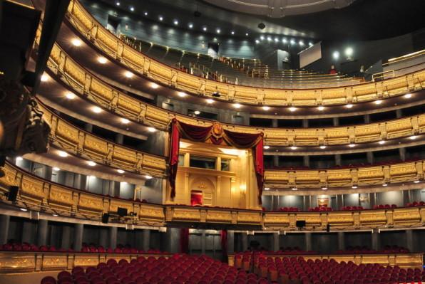 Palco del Teatro Real.